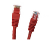 Category 5E UTP RJ45 Patch Cable Red - 1 ft