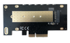 M.2 NVMe 80mm SSD PCIe x4 Adapter with Covered Heat Sink