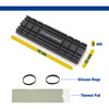 M.2 NVMe SSD 5mm Low-Profile Heat Sink (Compatible with PS5) Black