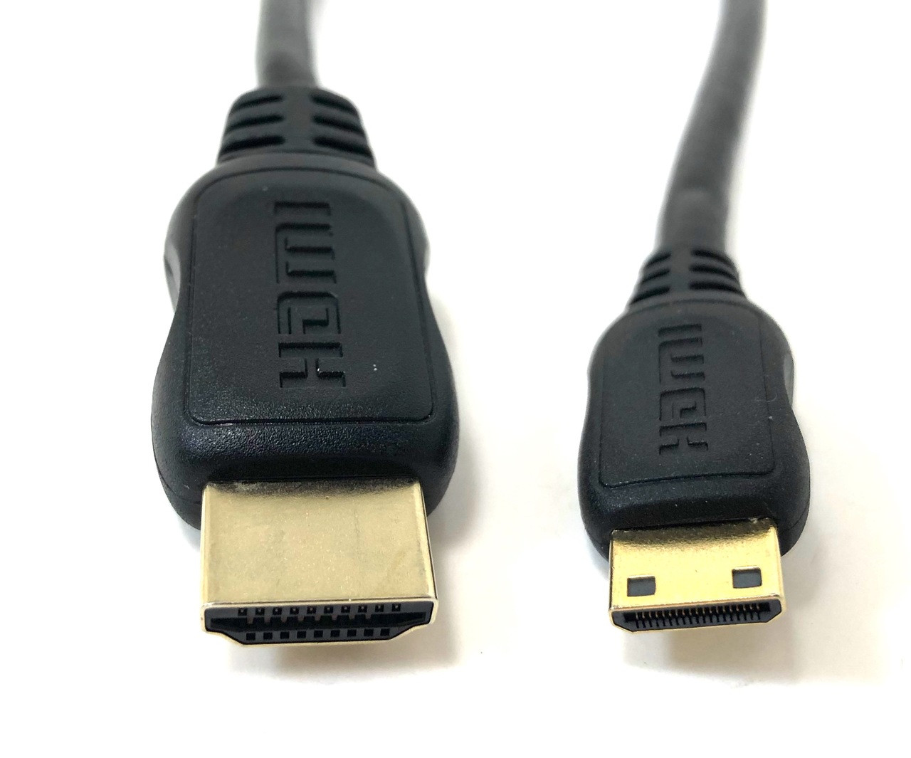 1ft Mini HDMI to HDMI Adapter Cable