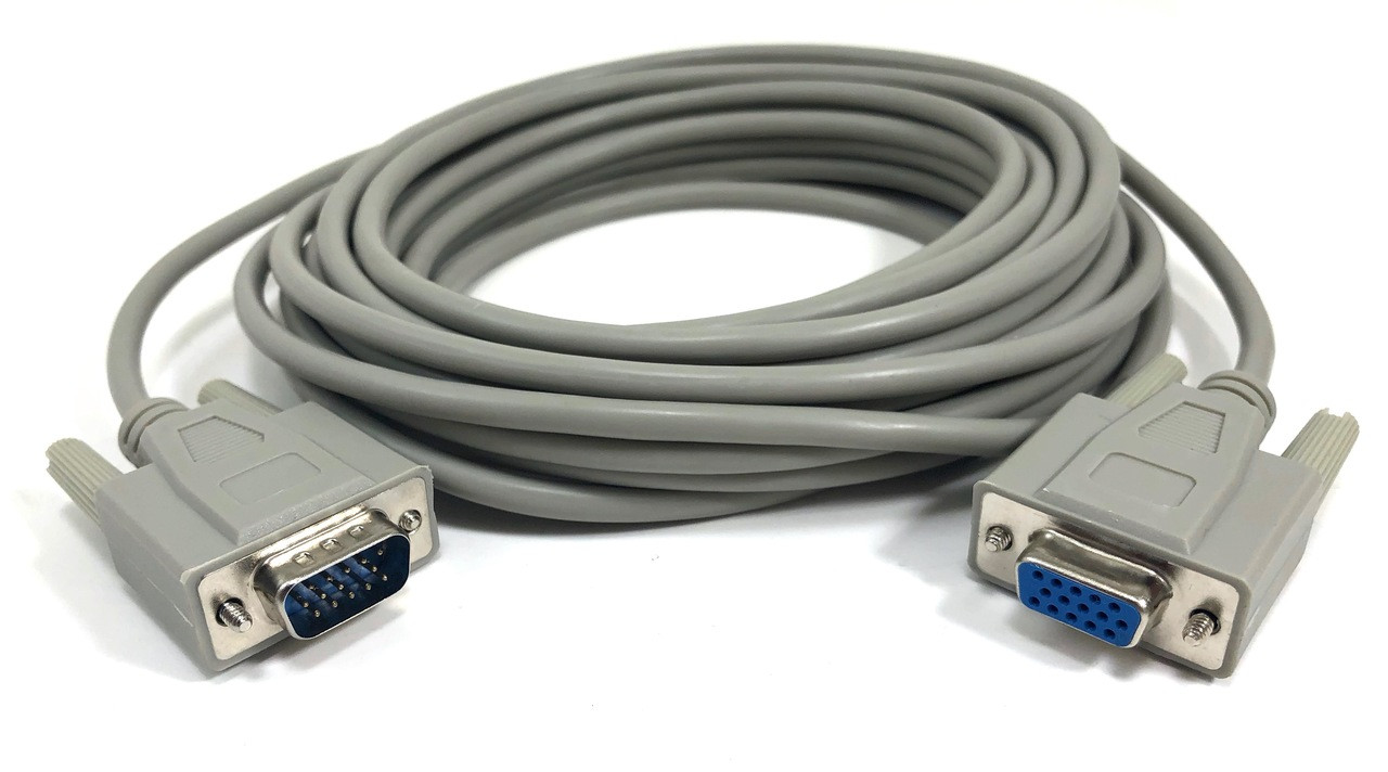 VGA Monitor Extension Cable HD15 M/F - 25ft