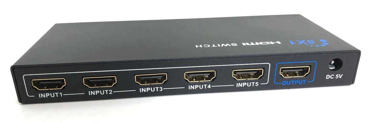 5 X 1 3D HDMI Switch with Remote