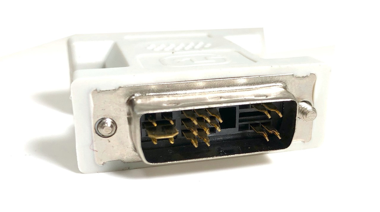 DVI-I Single Link Digital / Analog Male to VGA HD15 Female