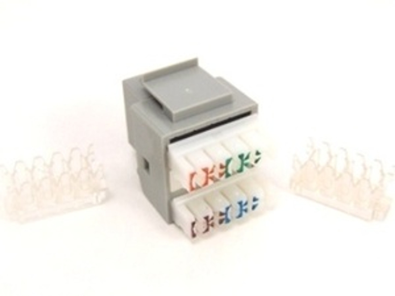 Keystone Jack RJ45 Category 5 - Gray