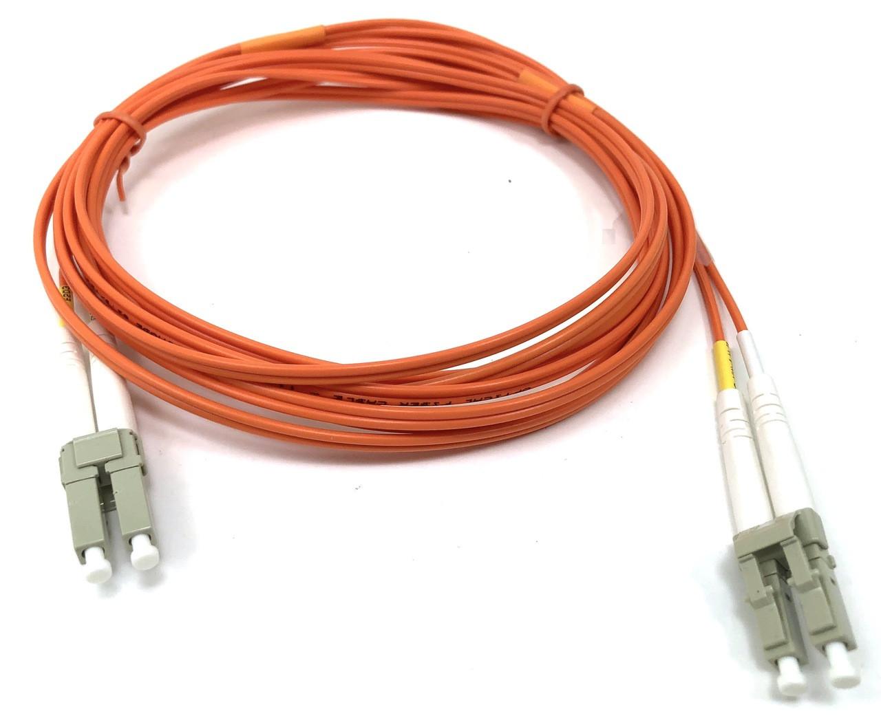 LC / LC Multimode Duplex 62.5/125 Fiber Optic Cable - 3 Meter