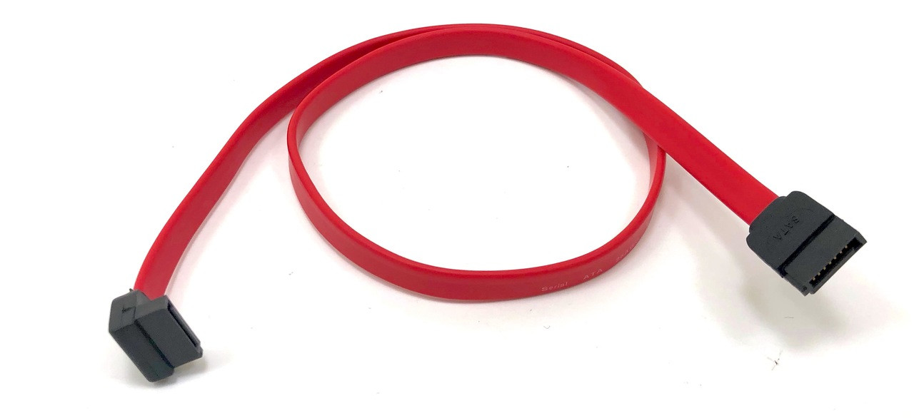 SATA III (6Gb) Data Cable w/ (1) Right Angle