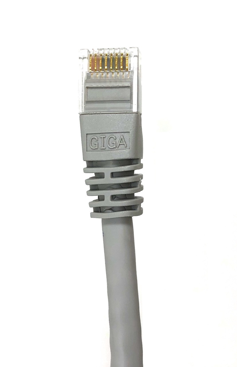 Category 6 UTP RJ45 Patch Cable Beige - 100 ft