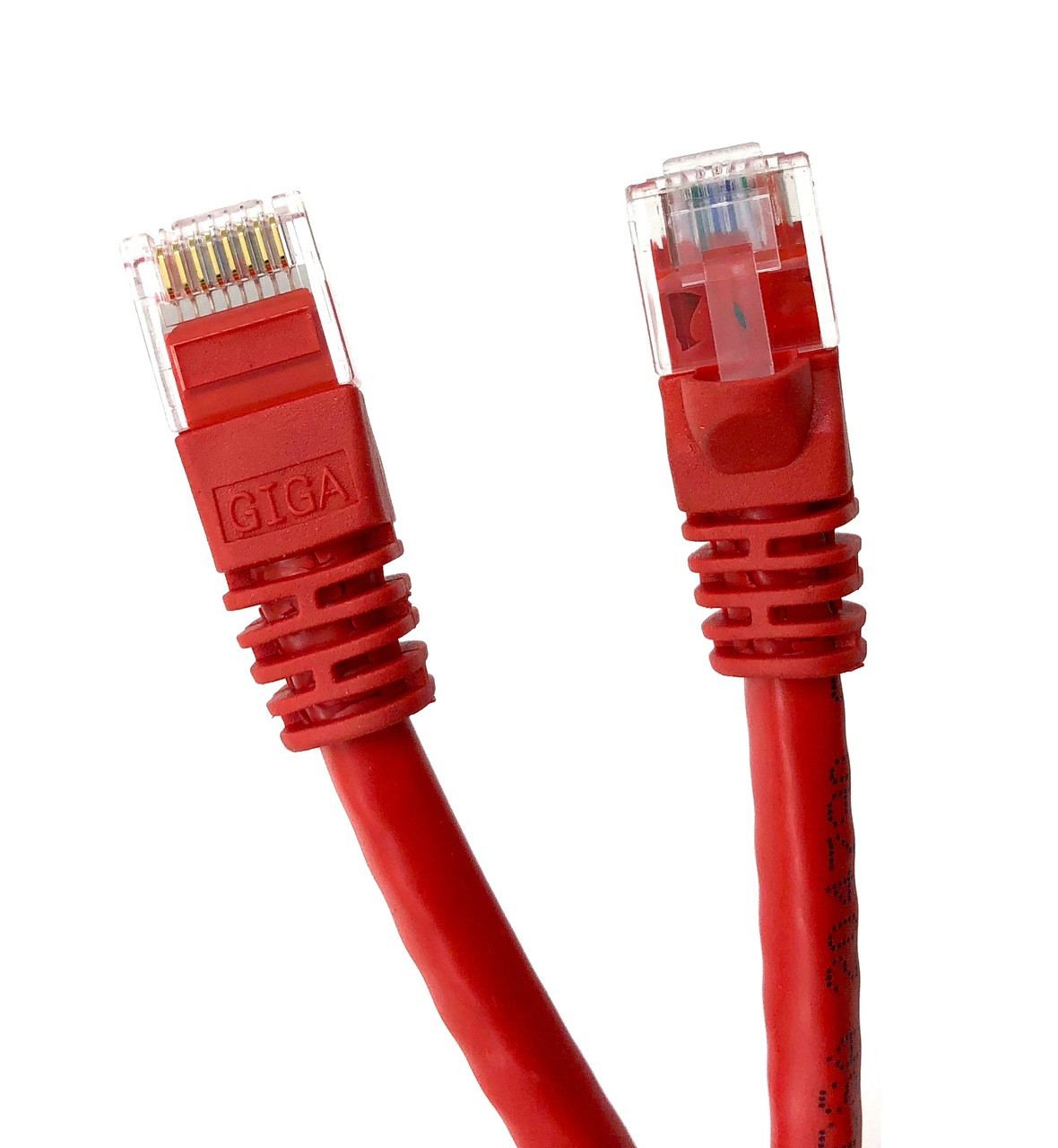 Category 6 UTP RJ45 Patch Cable Red - 50 ft
