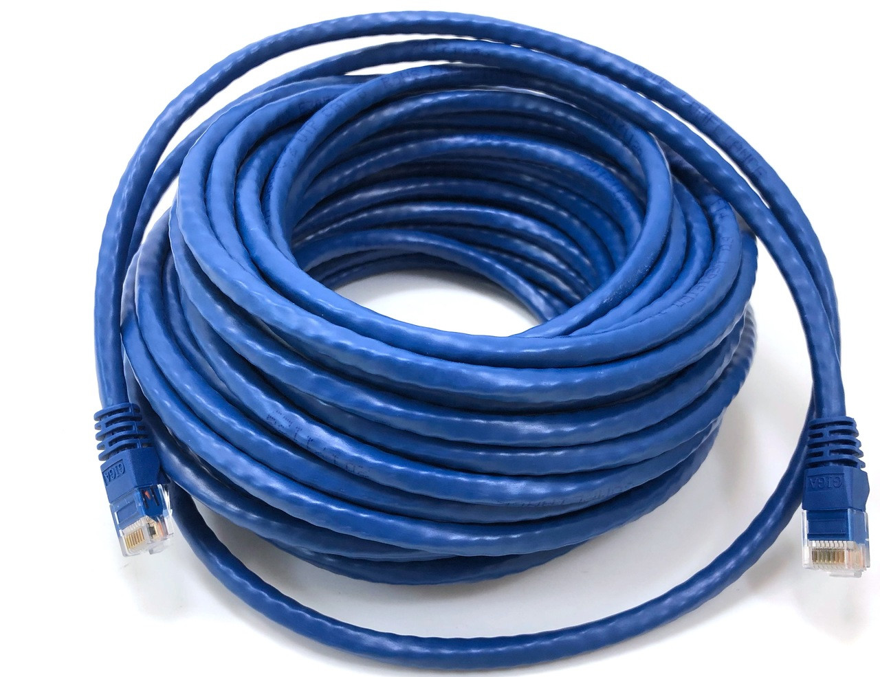 Category 6 UTP RJ45 Patch Cable Blue - 50 ft