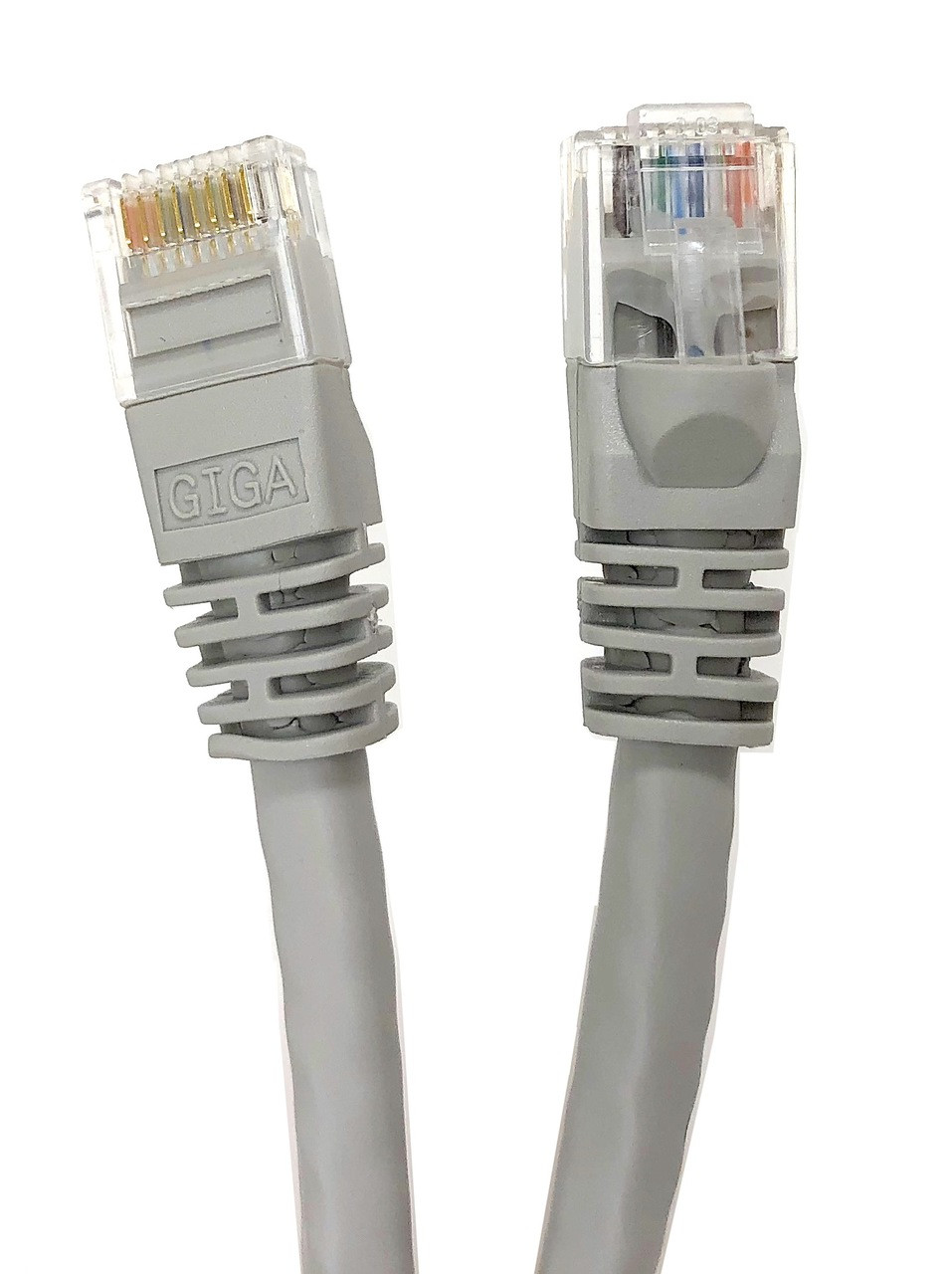 Category 6 UTP RJ45 Patch Cable Beige - 14 ft