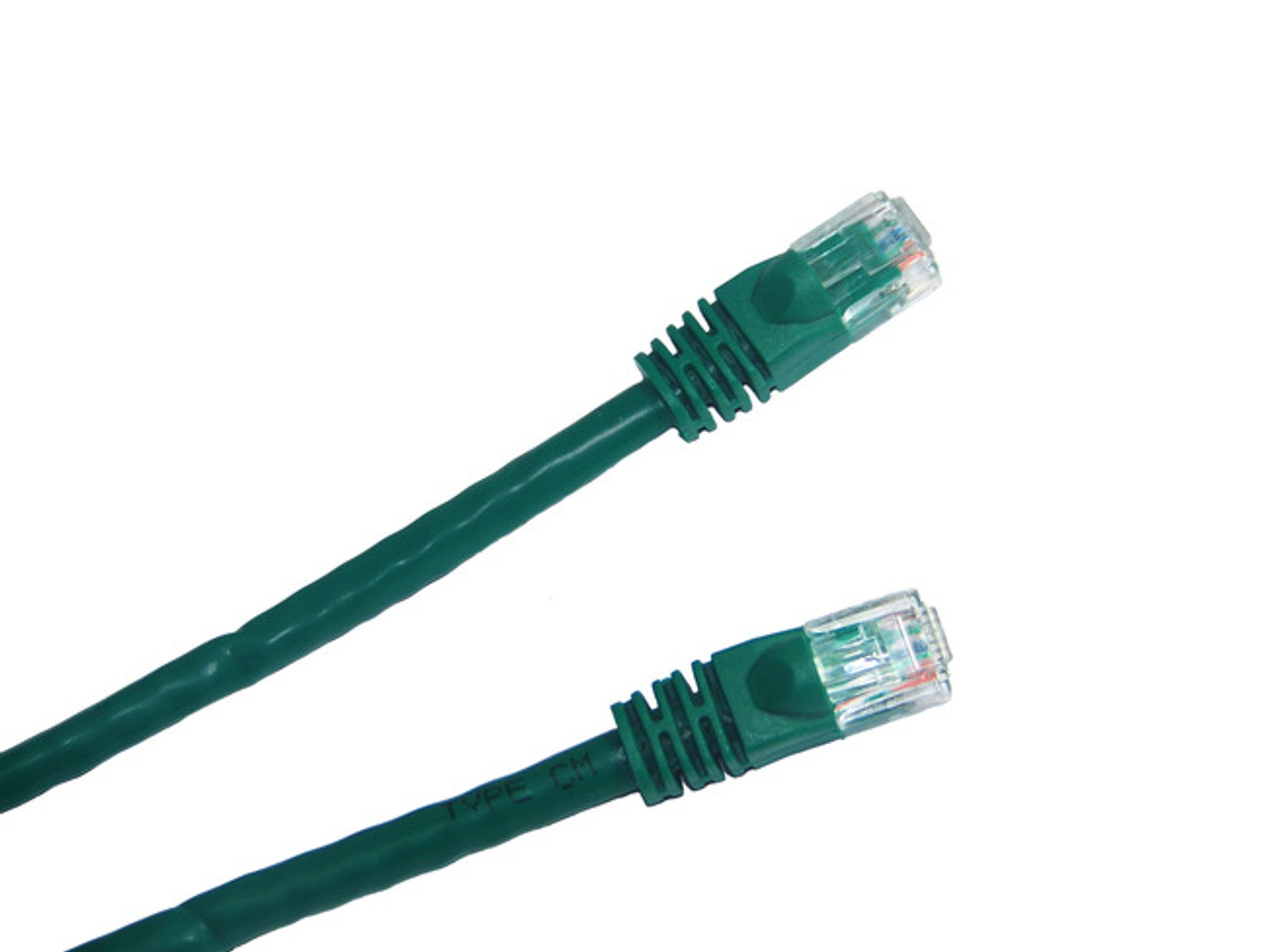 Category 6 UTP RJ45 Patch Cable Green - 7 ft