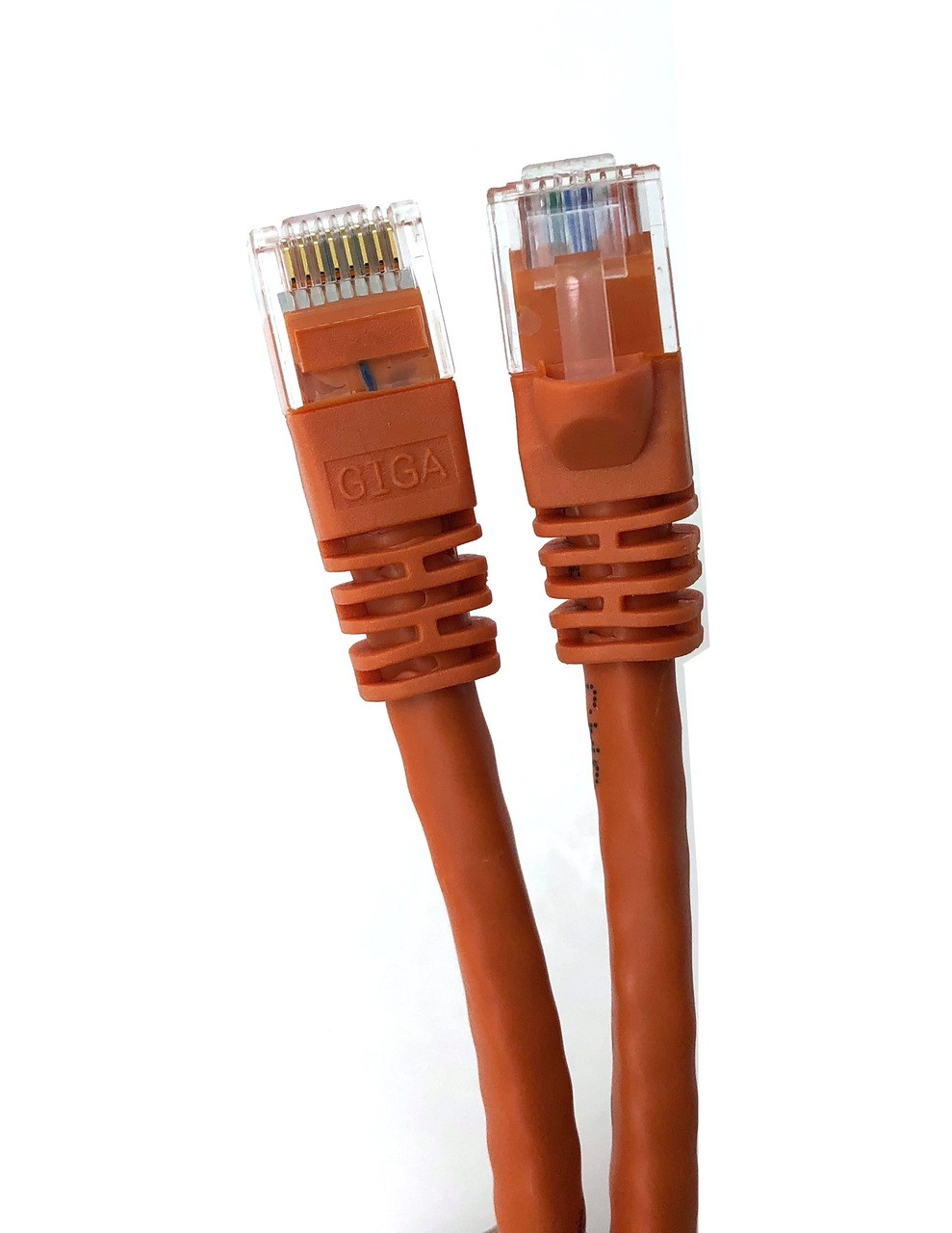 Category 6 UTP RJ45 Patch Cable Orange - 3ft