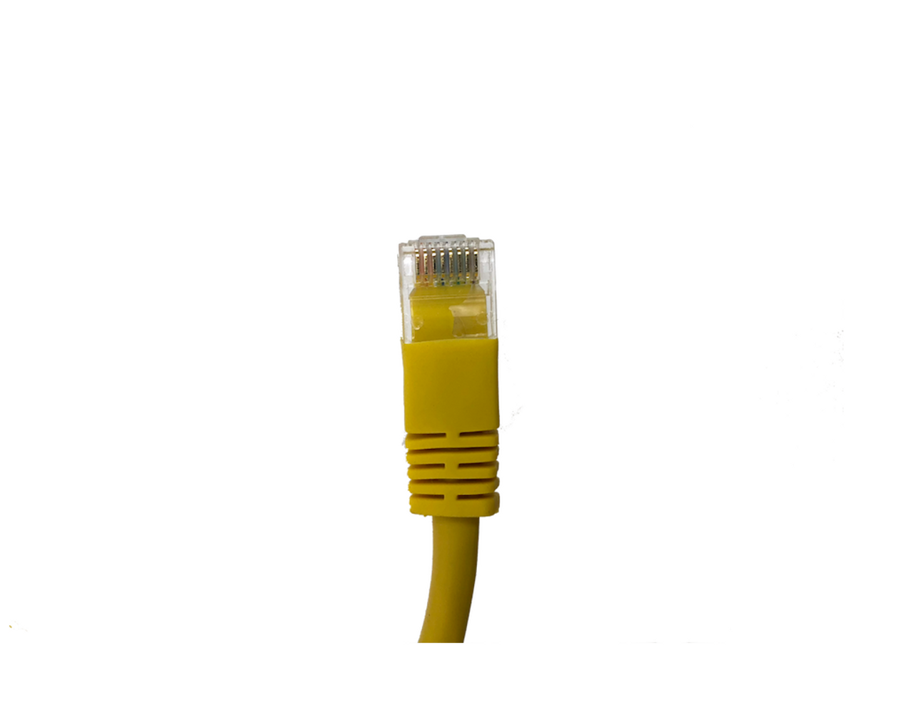 Category 5E UTP RJ45 Patch Cable Yellow - 5 ft