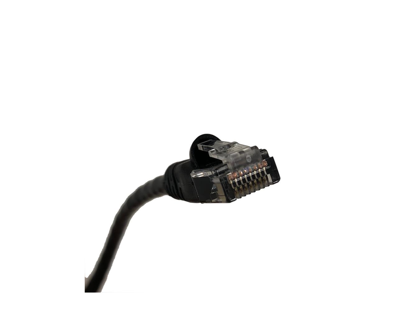 Category 5E UTP RJ45 Patch Cable Black - 1 ft