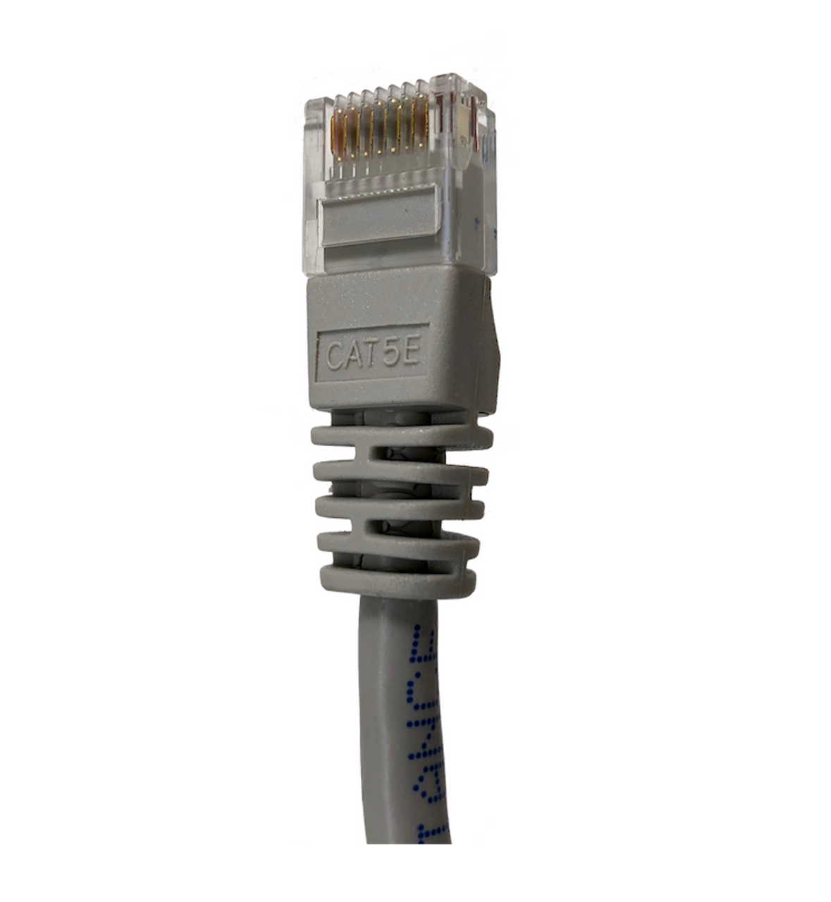 Category 5E UTP RJ45 Patch Cable Gray - 1 ft