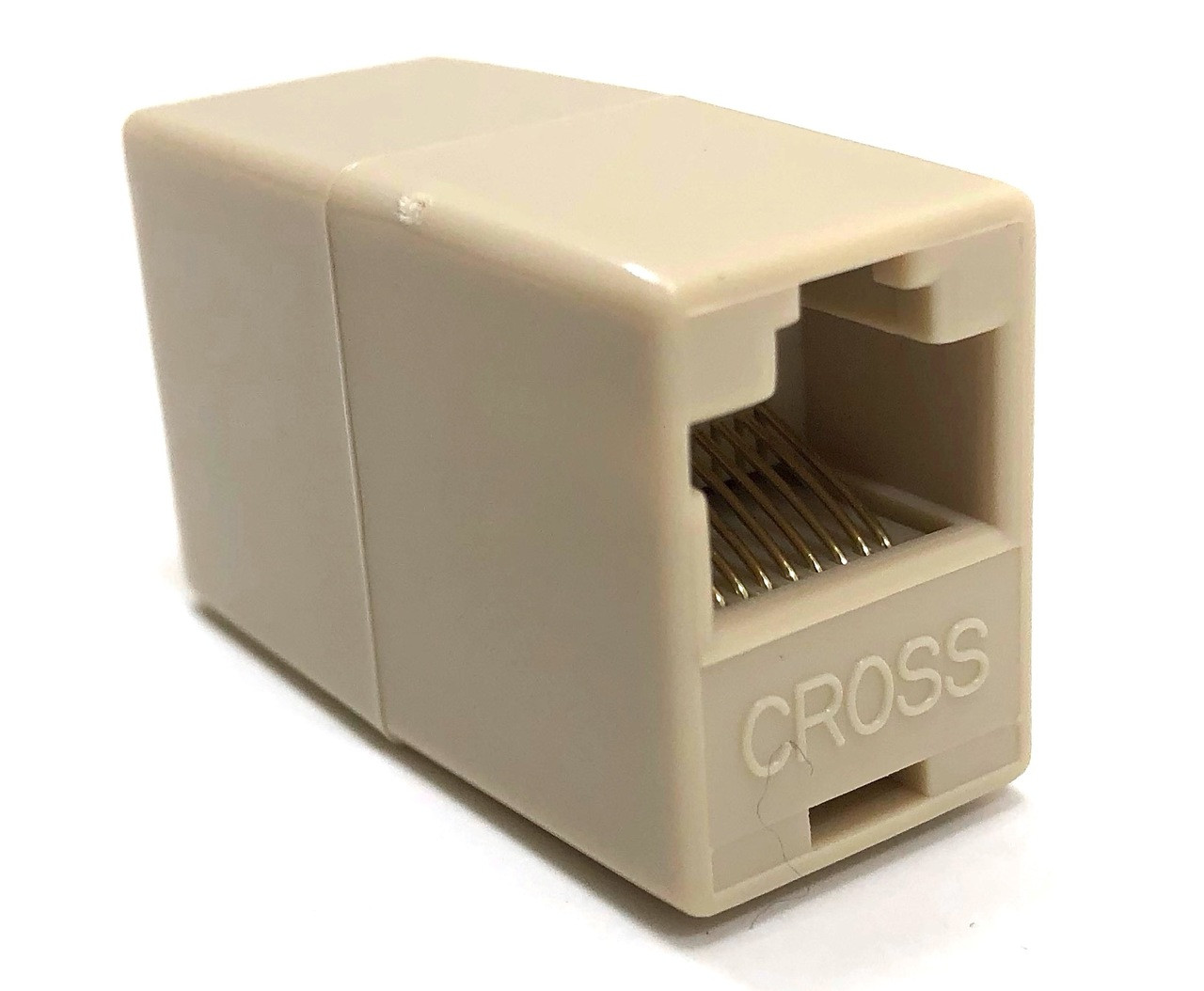 Category 5 In Line RJ45 Coupler F/F - Crossover