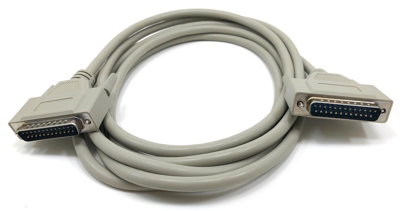 Serial Cable Bi Directional 25C (DB25M/M) - 10ft