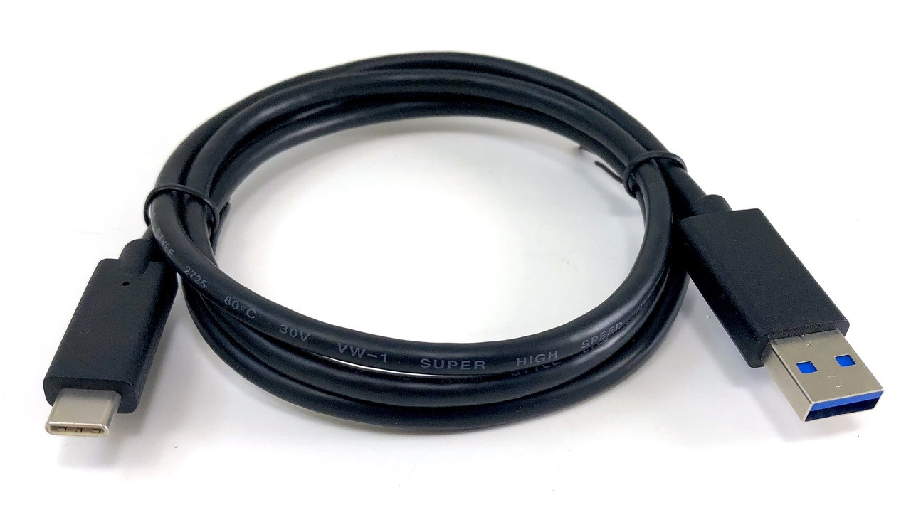USB Type-C to USB 3.0 A - 1 Meter