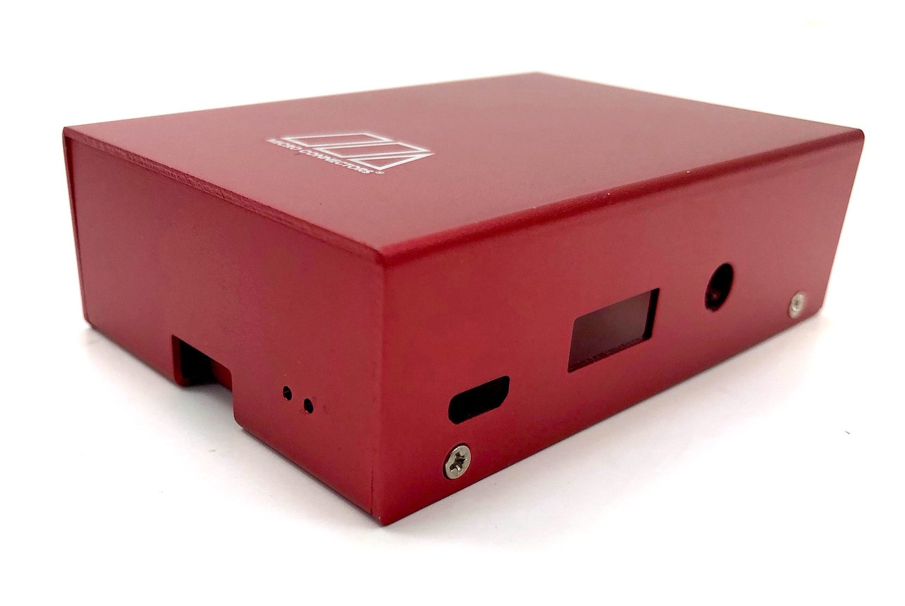 Aluminum Raspberry Pi 3 Model B/B+ Case (Red)