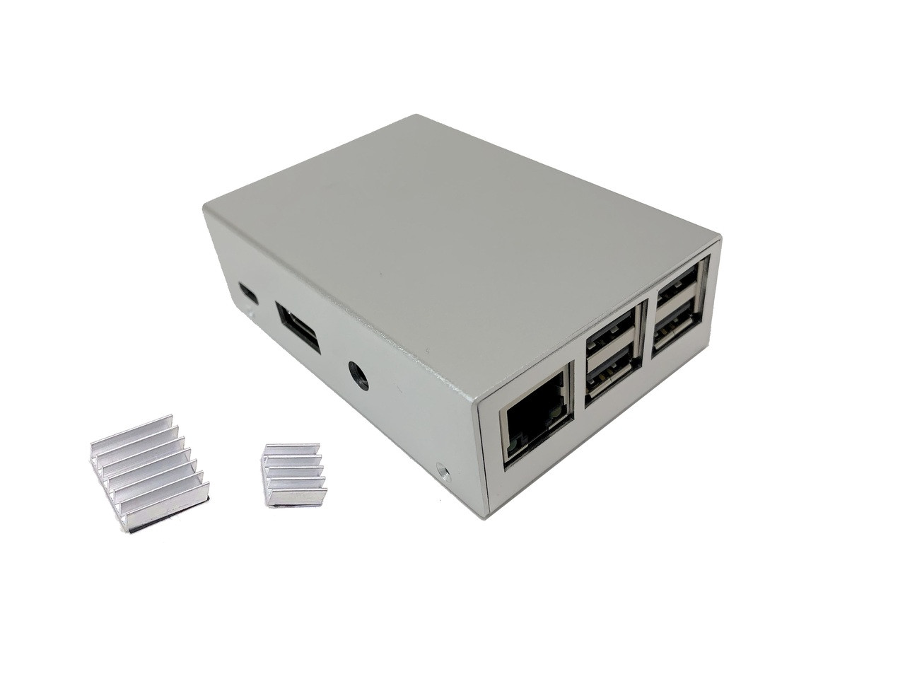 Aluminum Raspberry Pi 3 Model B/B+ Case (Silver)