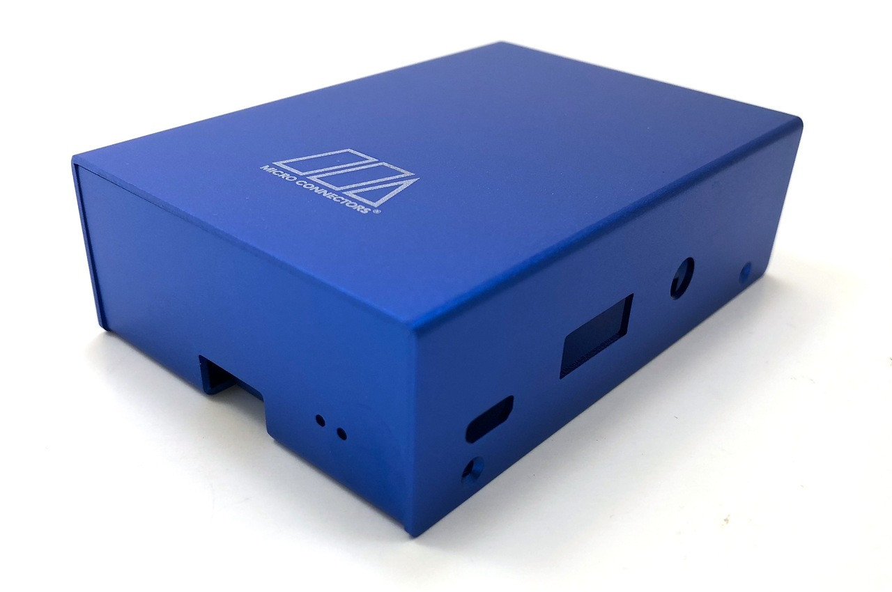 Aluminum Raspberry Pi 3 Model B/B+ Case (Blue)