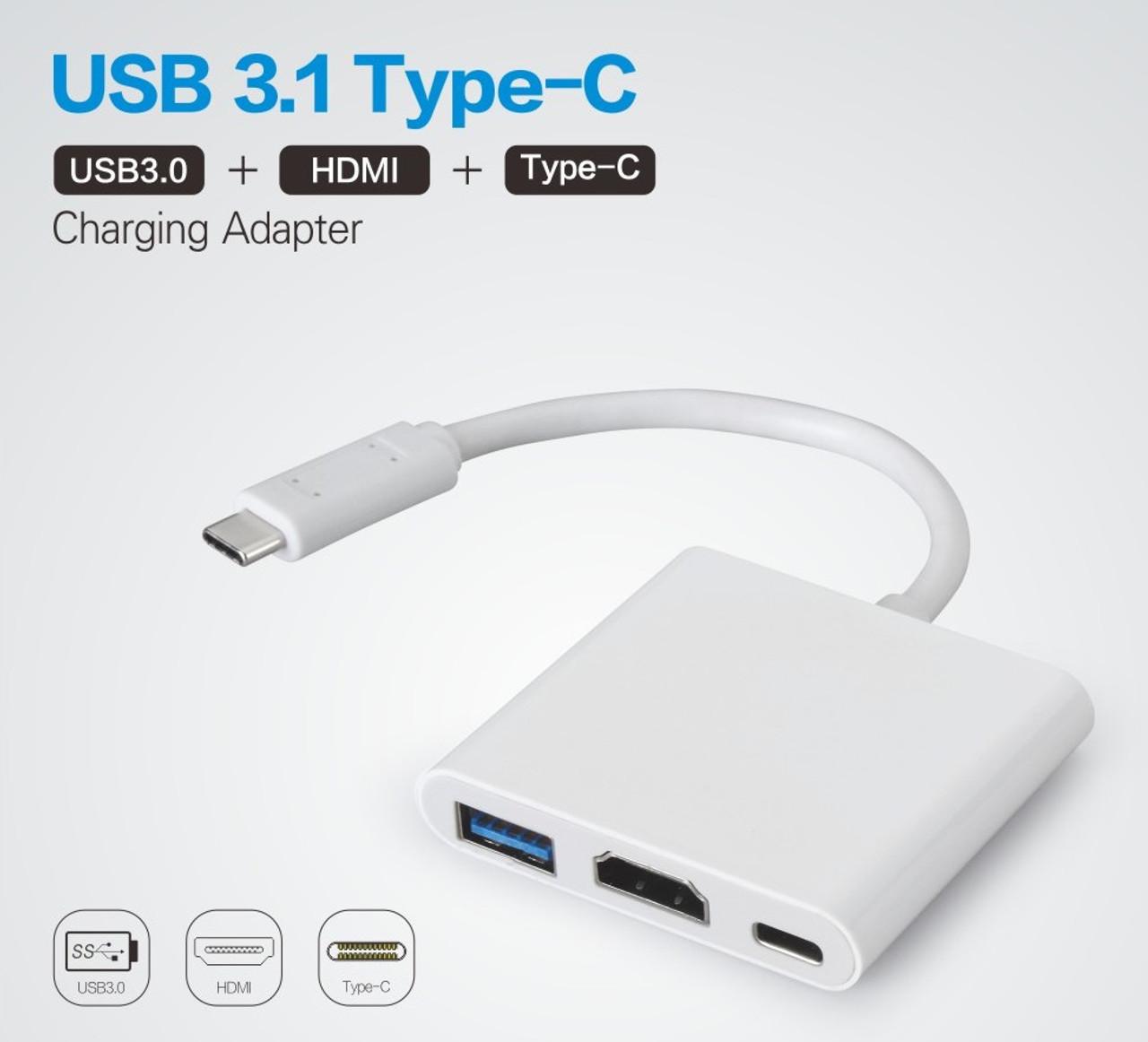 USB-C Digital AV HDMI Multiport Adapter