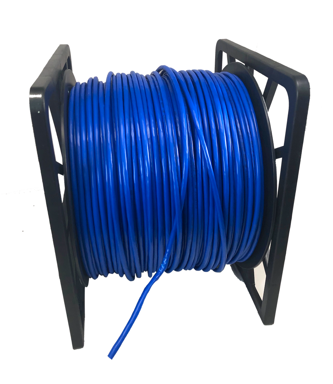 CAT 6A Stranded STP Bulk Ethernet Cable Blue - 1000 ft box