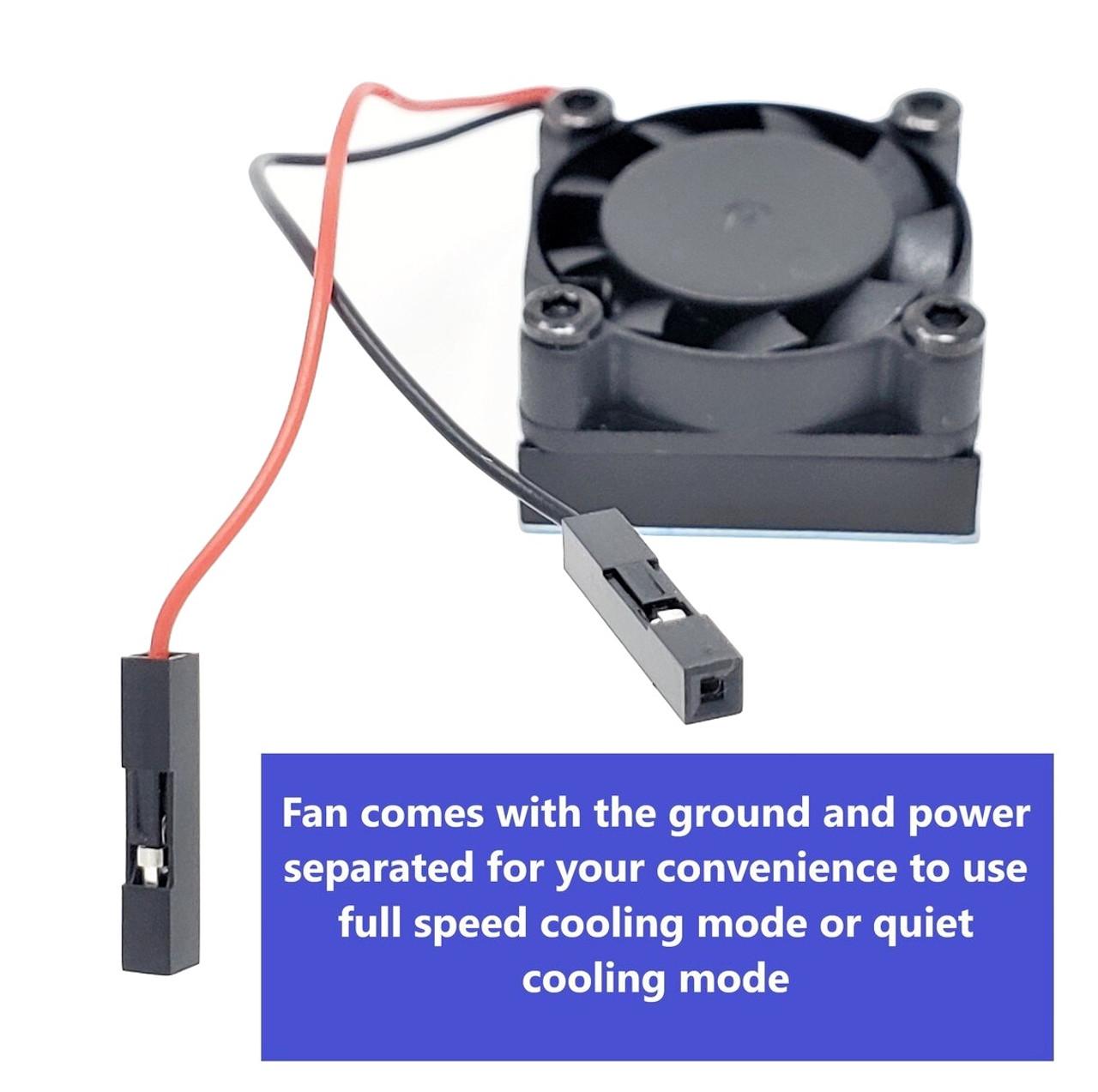 Cooling Fan/Heat Sink for Raspberry Pi