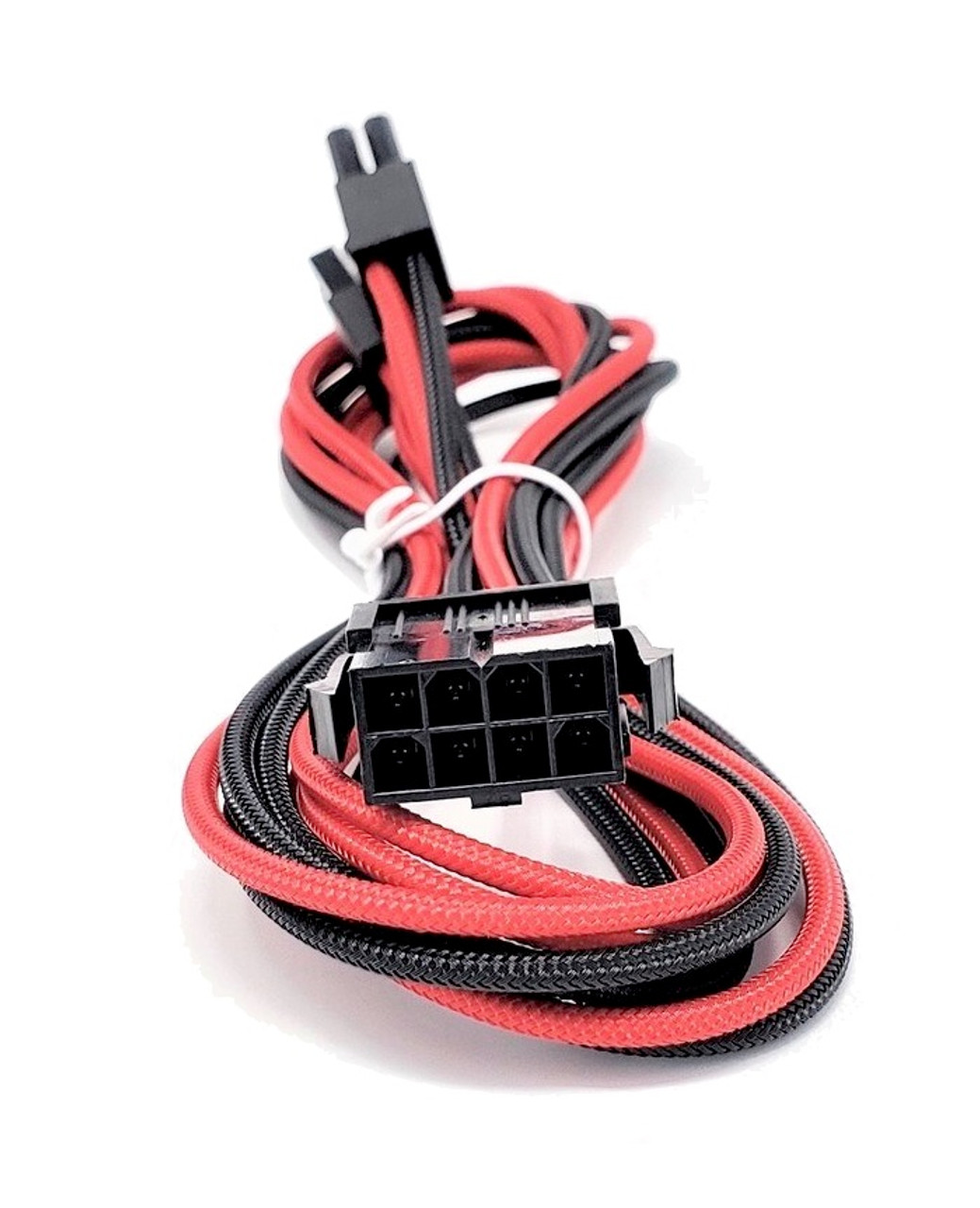 Premium Sleeved PSU Cable Extension Kit (Red/Black)
