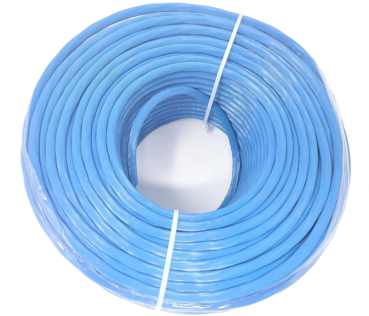 250ft Cat6A Solid STP Bulk Ethernet 23AWG Cable (Blue)