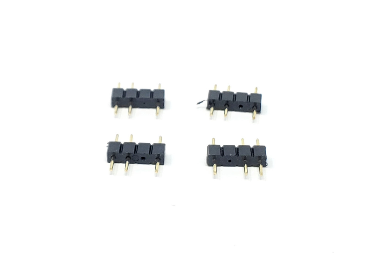 30cm Addressable RGB Extension Cable with Male Pins / 2-Pack
