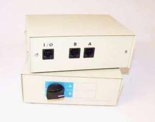 RJ45 Manual Switch Box 2 Way 8 Wire