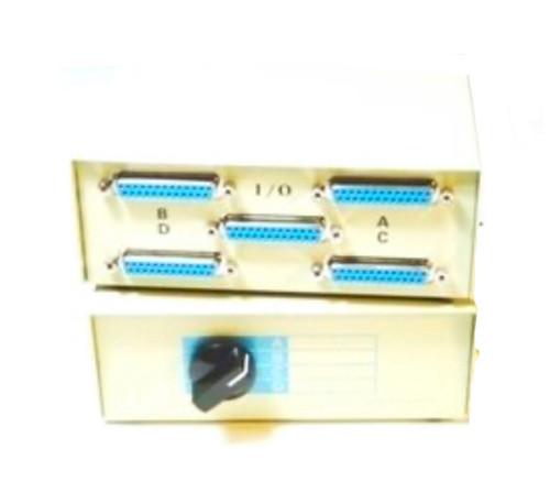 DB25 Manual Switch Box 4 Way