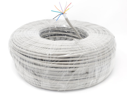 500 Feet 9-Conductor (24AWG) Stranded-Shielded Bulk Cable