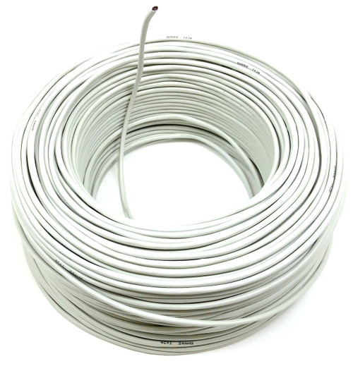 500ft 4 Conductor 24AWG Stranded Shielded Bulk Cable