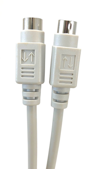 ps2 keyboardmouse extension cable mini din 6 mf 10ft