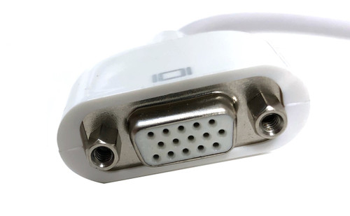 Mini-DVI to VGA Female Adapter - 8 in