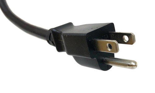 Universal AC Power Cord (UL Approved) Black - 6 ft