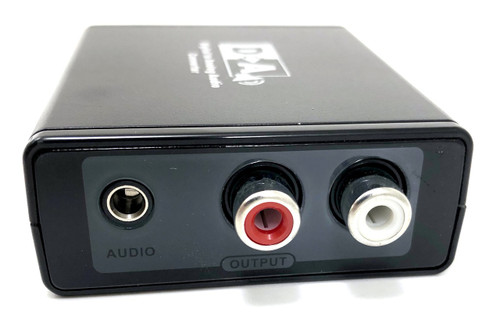 Digital to Analog Audio Converter (with AC Power Adapter)