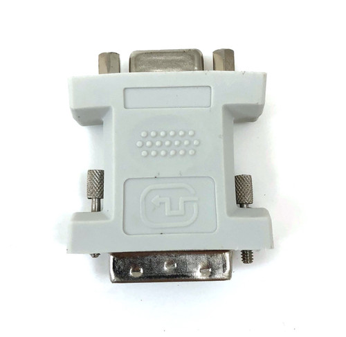 DVI-I Single Link Digital/Analog Male to HD15 (VGA) Female Adapter