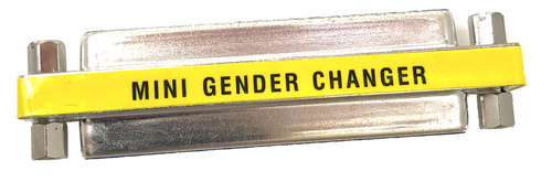 DB37 Gender Changer Female to Female Slimline
