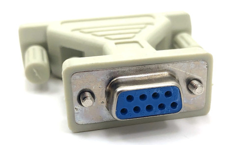 DB9 Female to DB25 Female Adapter