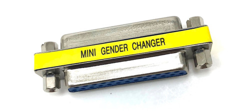 DB25 Gender Changer Female to Female Slimline