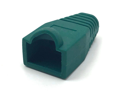 Cat6 Snagless Cable Boot (Green, 10 pack)
