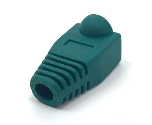 Cat5E Snagless Cable Boot (Green, 10 pack)