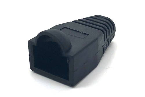 SNAGLESS CABLE BOOT CAT5 BLACK-10 PACK