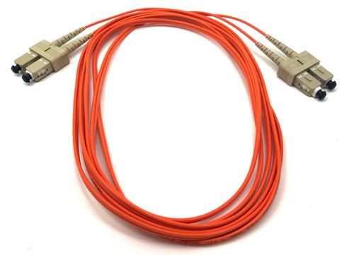 3m SC/SC Multimode Duplex 62.5/125 Fiber Optic Cable