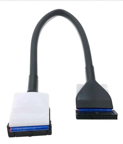 18in 34 Pin Floppy Round Single Drive (Black)