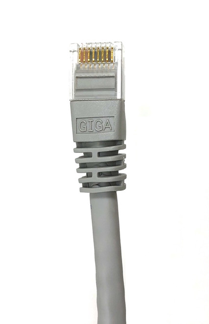 100ft Cat6 Molded Snagless RJ45 UTP Networking Patch Cable (Gray)