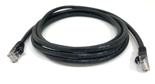 Category 6 UTP RJ45 Patch Cable Black - 7 ft